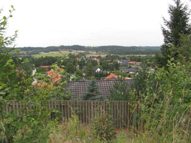 5-Udsigt fra camping pladsen over Resenbro og Gudenadalen