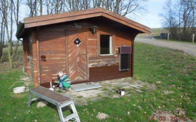 Arbejdsweekend på Skamstrup Camping