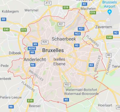 Nye miljøzone for Bruxelles pr. 1 oktober 2018