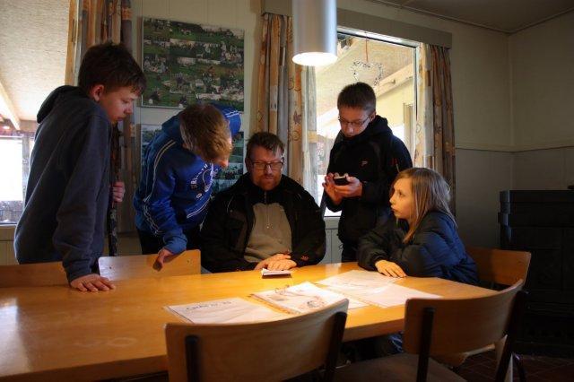 Skattejagt med GPS på Skamstrup Camping 2013