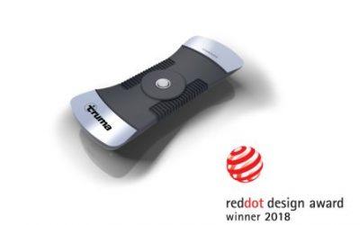 Red Dot Design Award til Truma LevelControl
